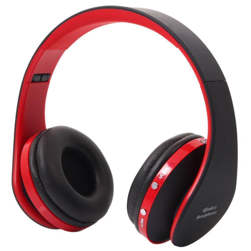 Wireless-Stereo-Headset-Foldable-Earphone-Earphone-Sport-Handfree-Universal thumbnail 7