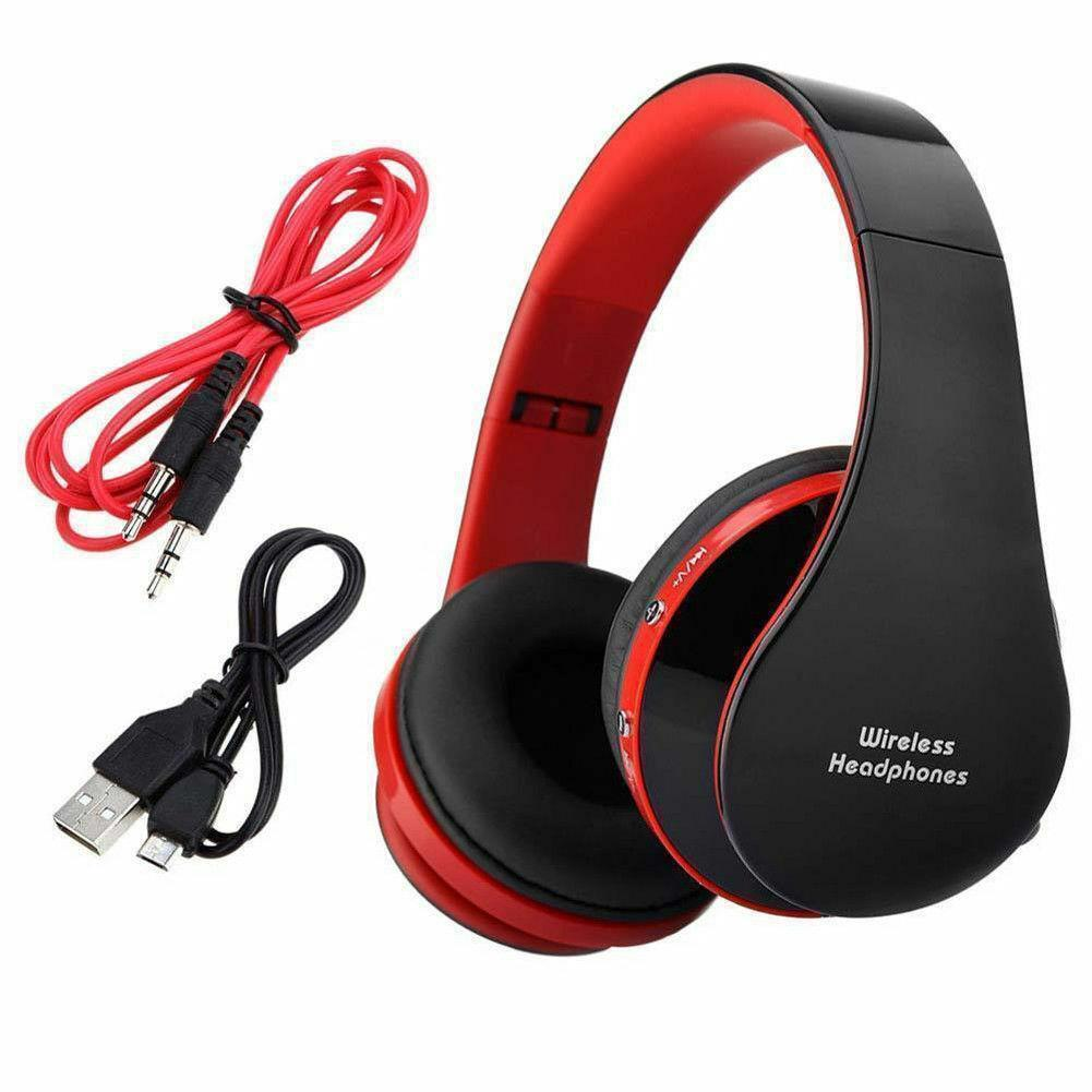 Wireless-Foldable-Headset-Stereo-Headphone-Hands-free-for-iPhone-PC thumbnail 8