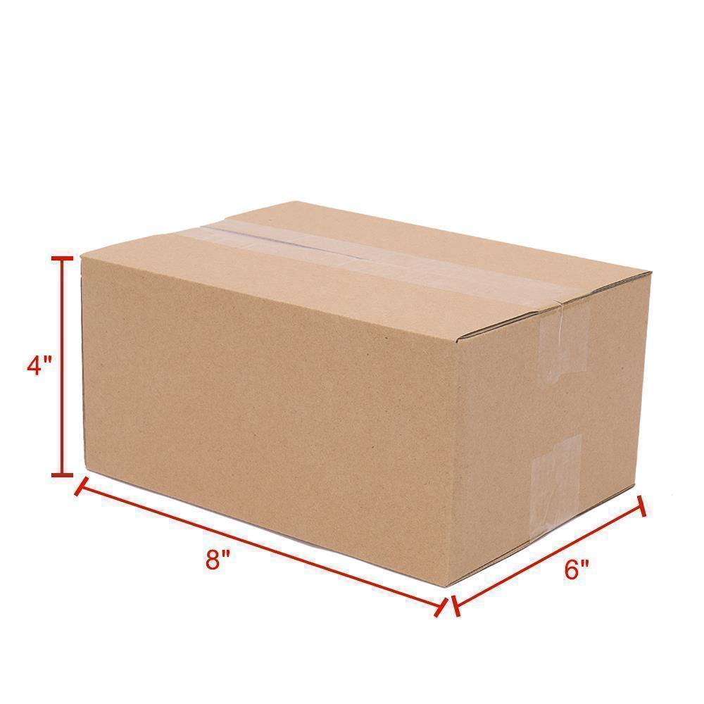 thumbnail 19 - 100-1000-PREMIUM-Cardboard-Paper-Boxes-Mailing-Packing-Shipping-Box-8x6x4-6x4x4